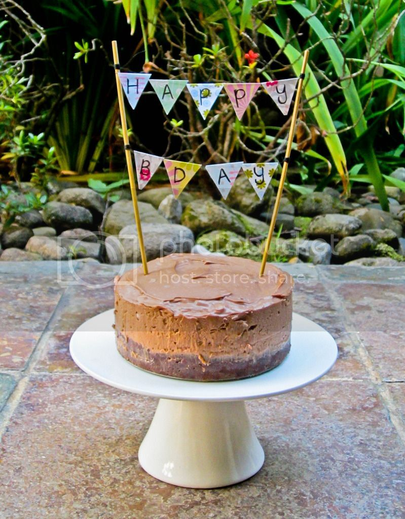 toblerone birthday cake