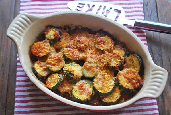 Courgette ovenschotel