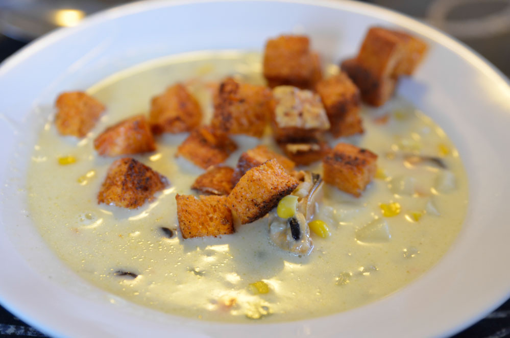 Musselsoppa (Clamchowder)
