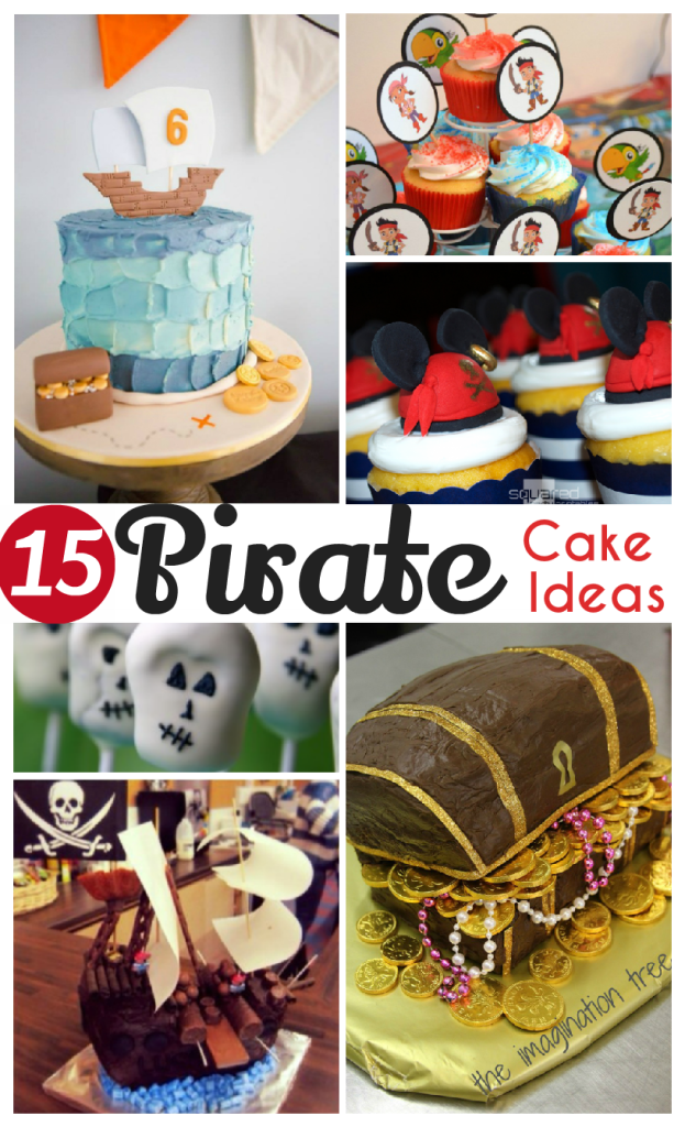 15 Fun Pirate Cake Ideas