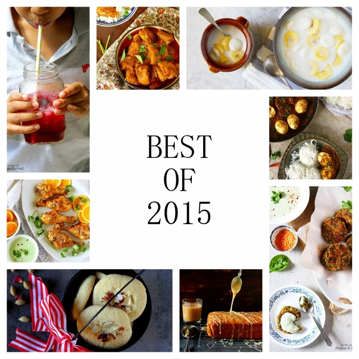 Top 15 Of 2015 – A Recipe Roundup