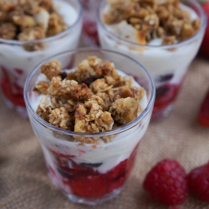 Organic Breakfast Parfaits for #WakeuptoOrganic