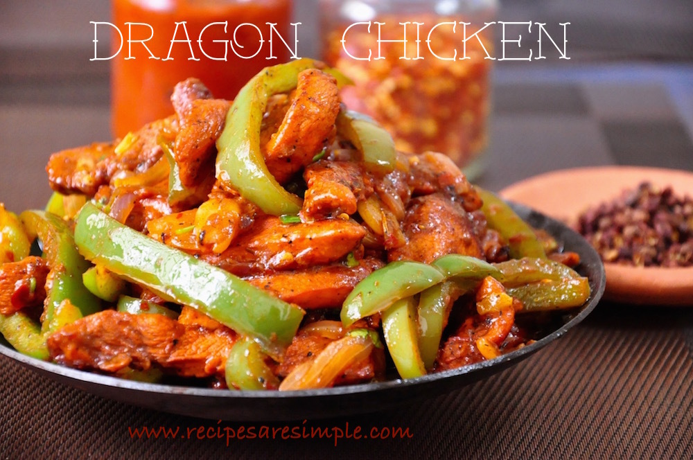 Dragon Chicken | Indo Chinese Chilli Chicken Recipe