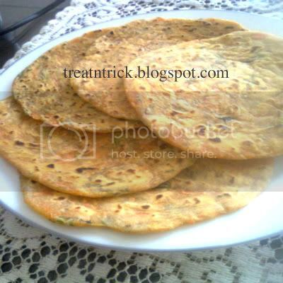 variety of chapati