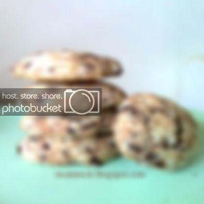 eggless chewy chocolate chip cookies