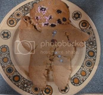 Gingerbread Men for Grandparents Day
