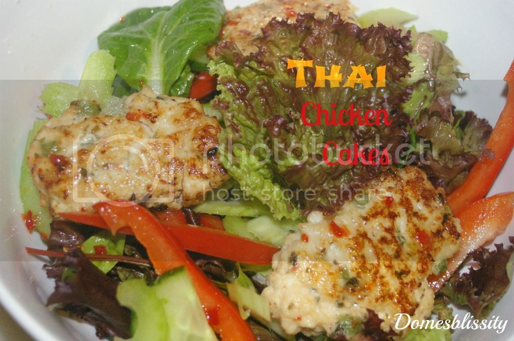 Thai Chicken Cakes