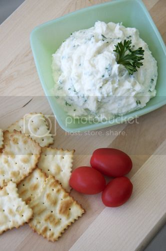 French Fridays with Dorie – Lyonnaise Garlic and Herb Cheese