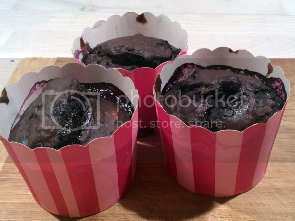 Black Bean Berry Muffins!