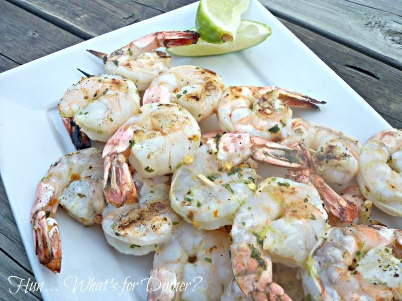 Grilled Chili-Lime Shrimp