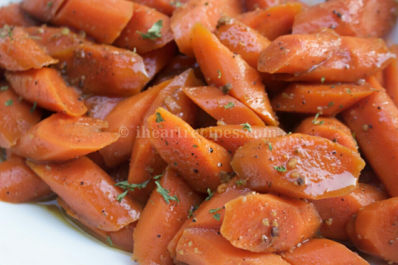 Roasted Maple Glazed & Peppercorn Chai Carrots