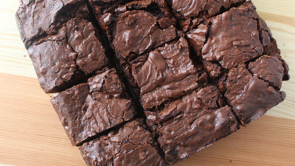 Chewy Brownies ~ Recipe