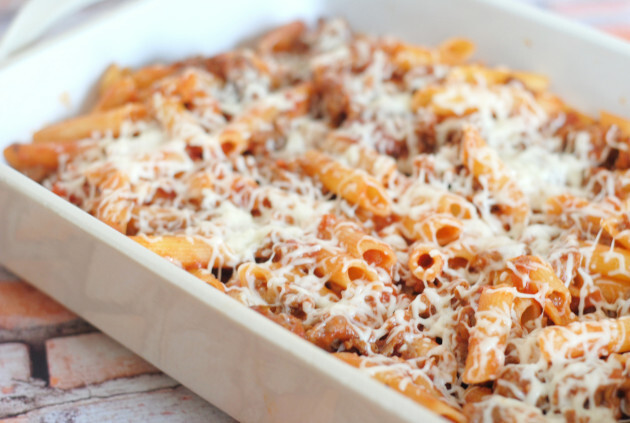 Italian Sausage Penne: Gluten Free Goodness