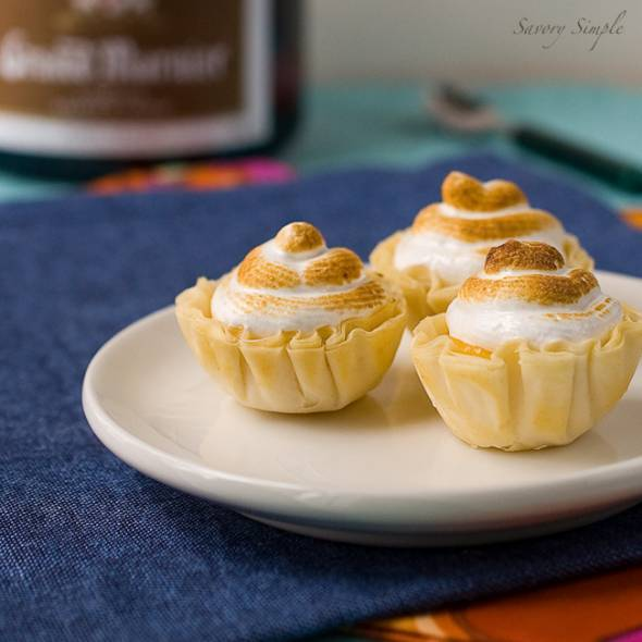 Orange Meringue Tarts with Grand Marnier