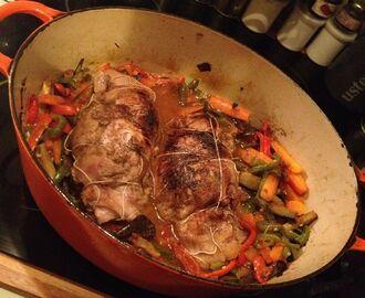 recettes de cuisson epaule d agneau roule cuisson au four mytaste. Black Bedroom Furniture Sets. Home Design Ideas