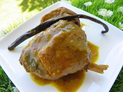 CANARD A LA VANILLE (thermomix)