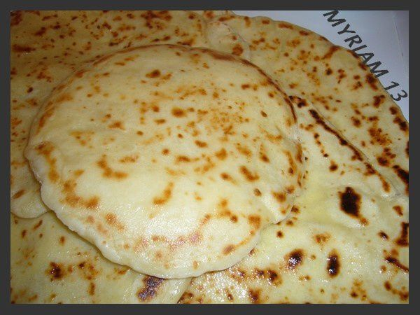 NAANS INDIENS AU FROMAGE
