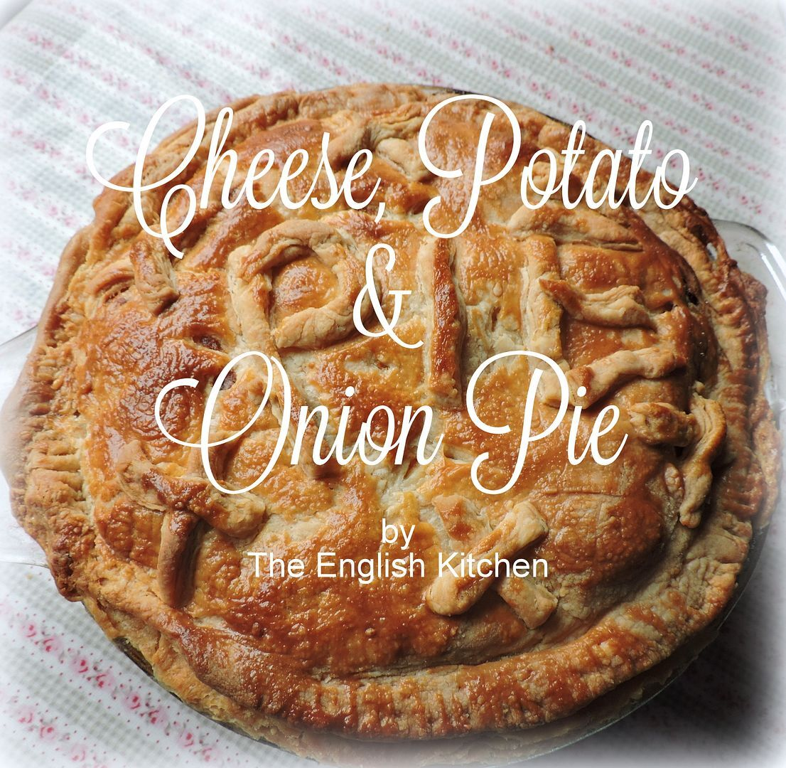 Cheese, Potato and Onion Pie