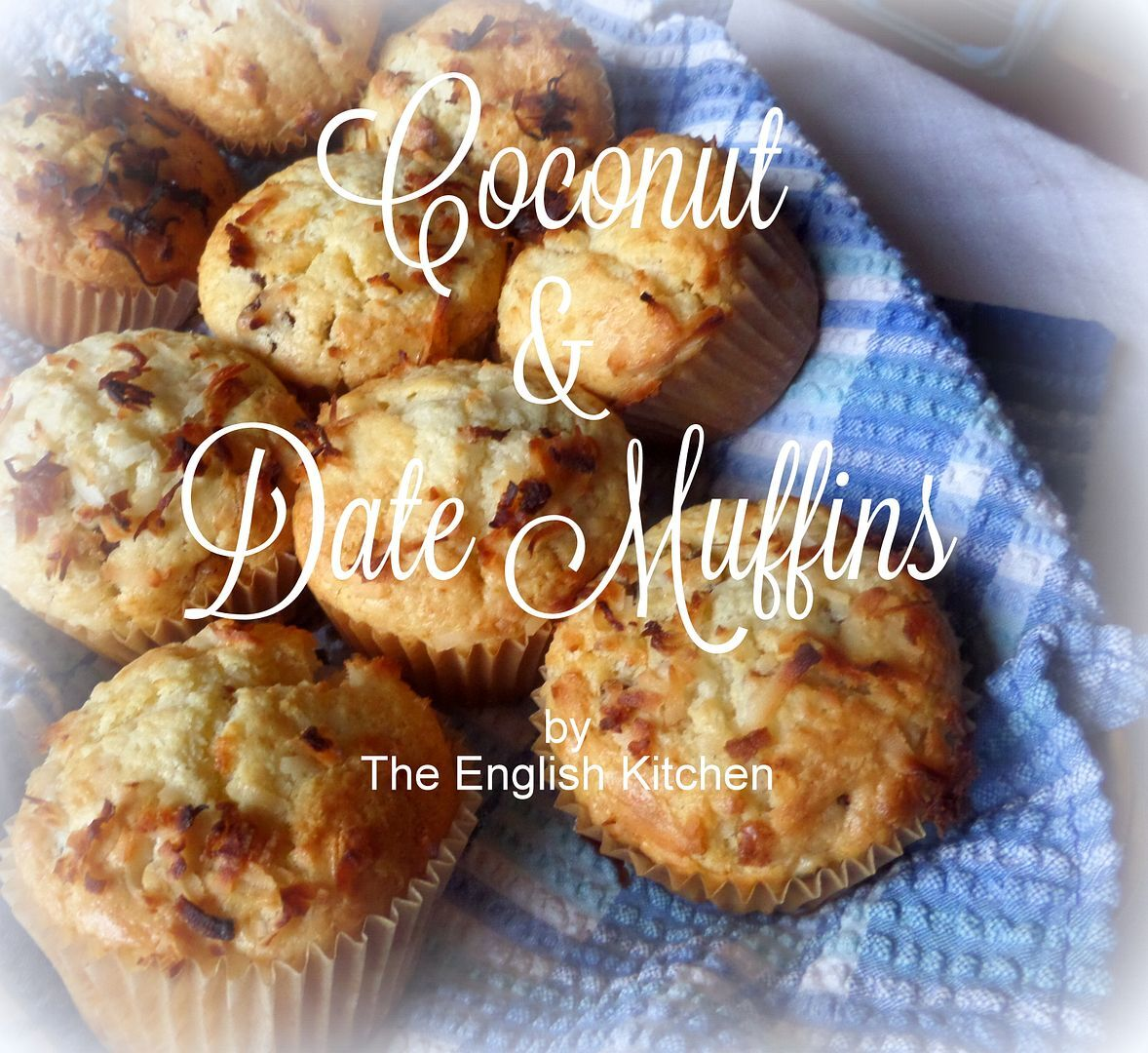 Muffins 101 and Coconut & Date Muffins