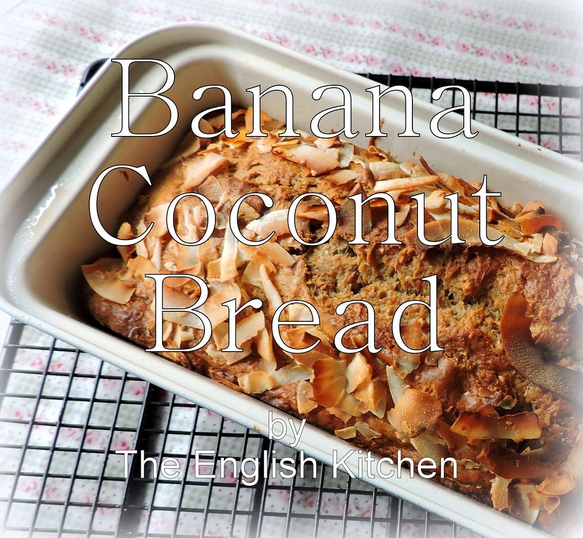 Banana Coconut Bread