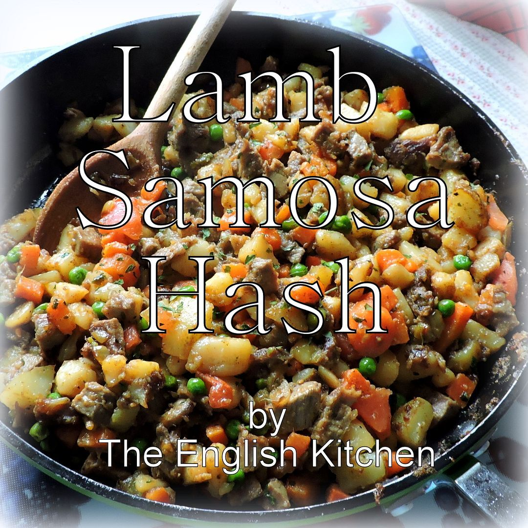 Samosa Hash . .  Gorgeous Leftovers!