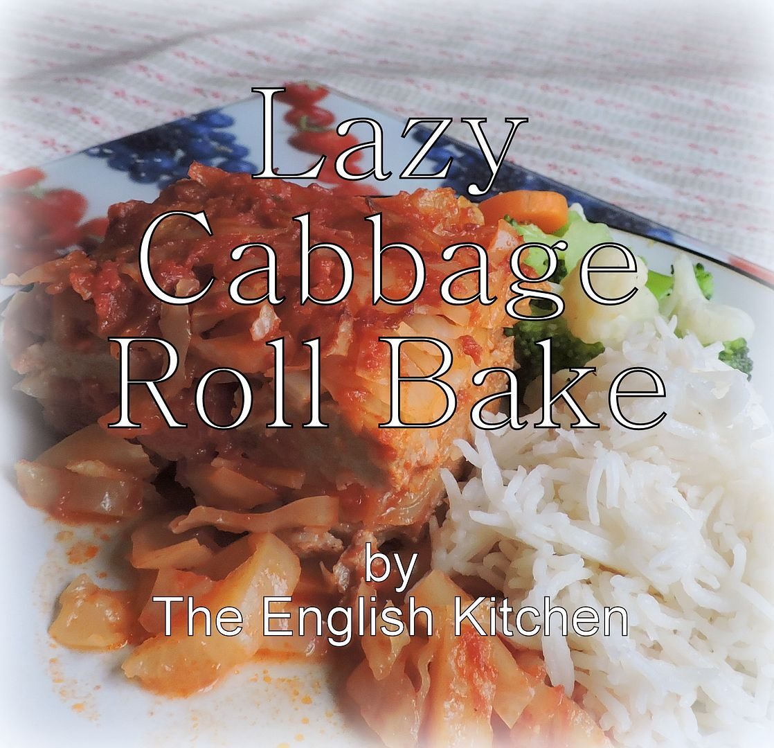 Lazy Cabbage Roll Bake
