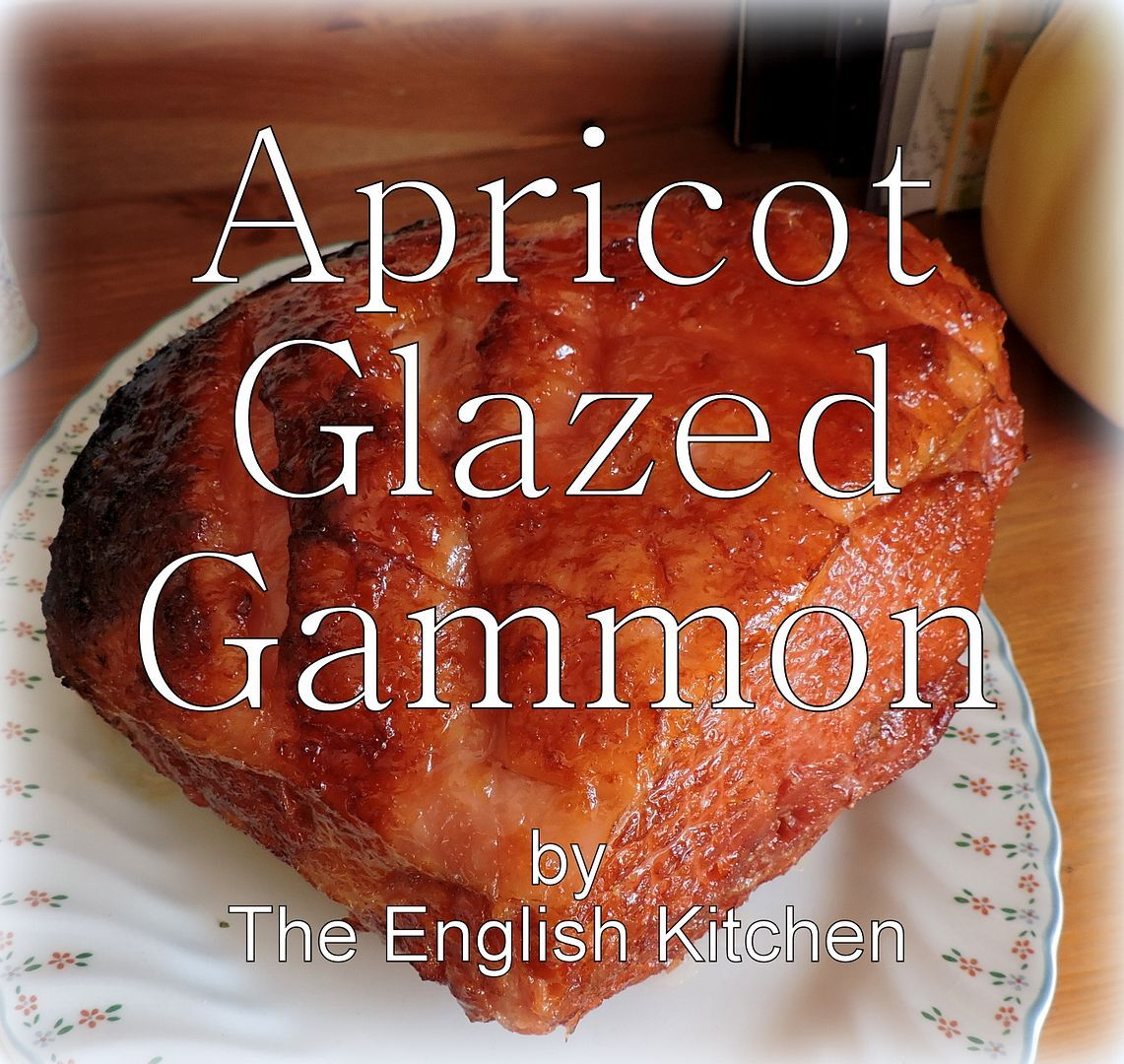 Apricot Glazed Gammon/Ham and sides for Easter