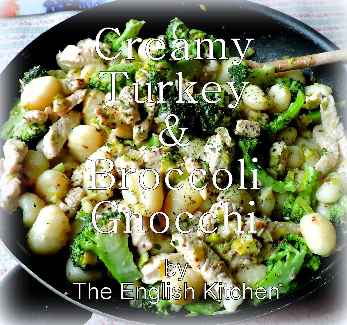 Creamy Turkey & Broccoli Gnocchi