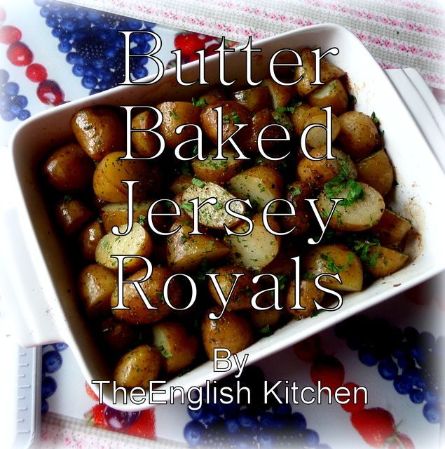 Butter Baked Jersey Royals