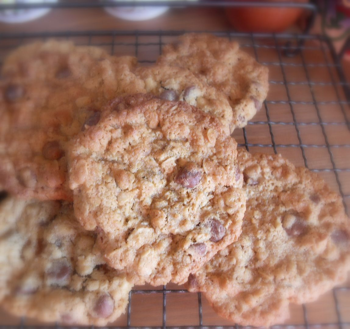 Amazing Peanut Butter-Chocolate Chip Oatmeal Cookies
