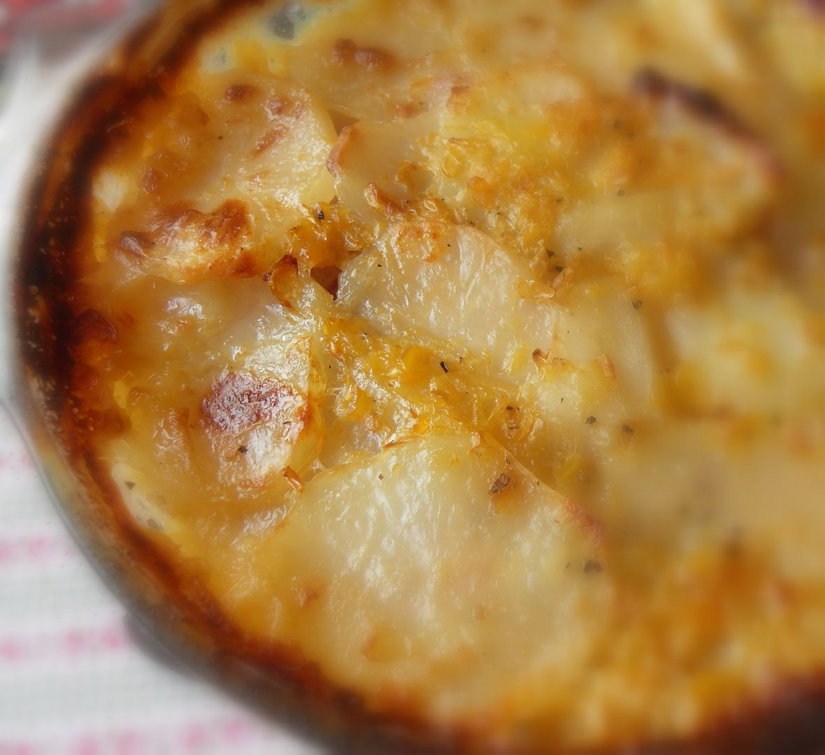 Ham and Corn Scalloped Potatoes