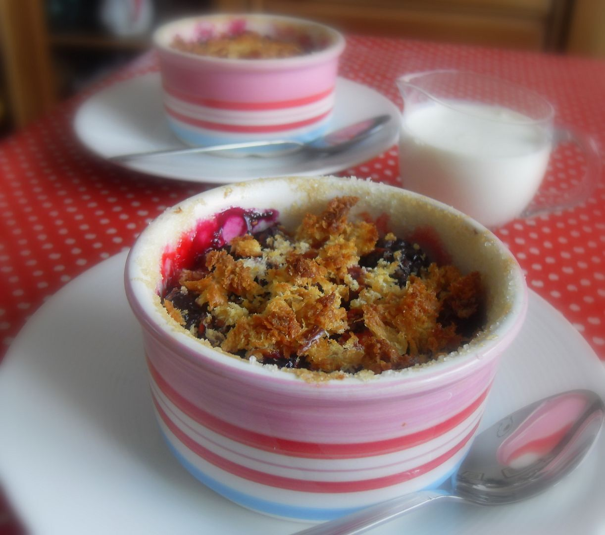 Summer Berry Brown Betty