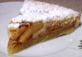 Tarte Aux Pommes (French Apple - Custard Tart)