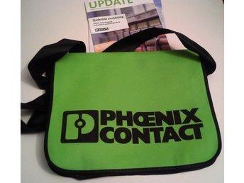 Grön tygväska från Phoenix Contact säljes