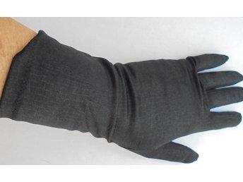 handskar, svarta, vintage, 60-tal, st 7