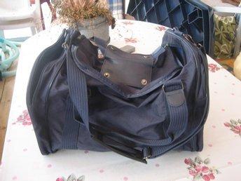 Väska / Bag / Skolväska - Blå