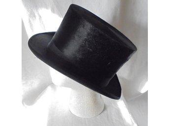 cylinderhatt, hög hatt, vintage