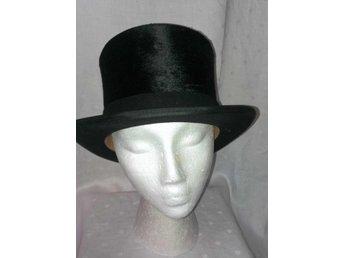 cylinderhatt, hög hatt, vintage, st 57