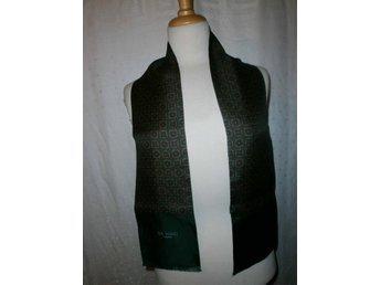 halsduk i äkta siden,silke,vintage