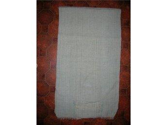 sjal med fickor handvävd  50/60-tal retro vintage
