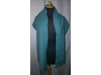 halsduk i ljusblå ylle,vintage