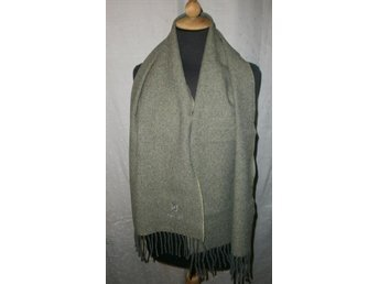 halsduk,grå ylle med nylon,Italy