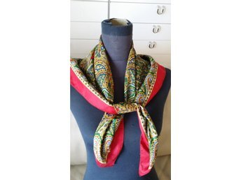 scarf  Paisley vintage