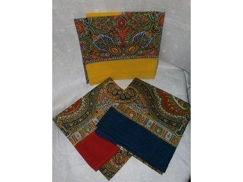 3 scarfs i bomull