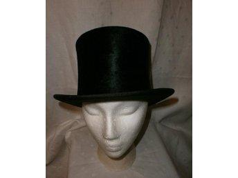 hatt, hög hatt, cylinderhatt, stormhatt,vintage, ca 30-tal
