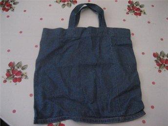 Handväska - Jeans    (Blå)