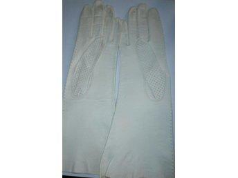 handskar,långa vita läderhandskar,vintage,50-tal