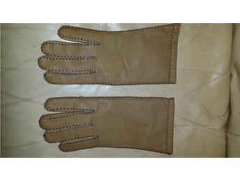 handskar läder skinnhandskar  dam NYA