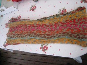 Sjal / Scarfs - Röd/Brun/Blå/Rosa/Orange 175 cm x 90 cm
