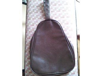 väska handväska  för skor vaxduk 40/50-talvintage